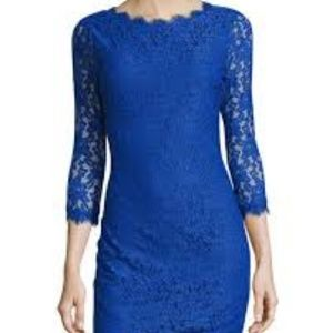 DVF Colleen  lace dress